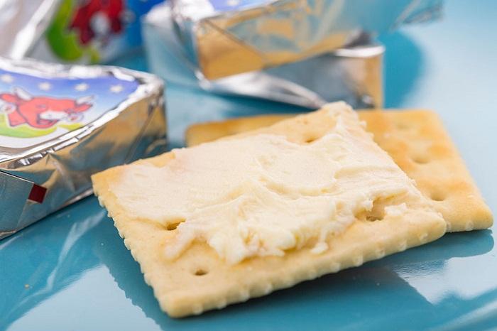 【【乐芝牛】奶酪原味8份装128g三角形的奶酪块